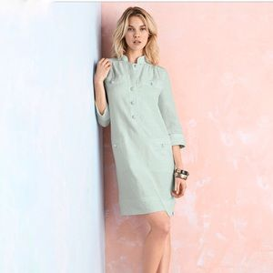 MAGASCHONI COLLECTION | linen shift dress